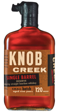 Knob Creek Single Barrel Small Batch Reserve Pic