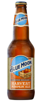 Blue Moon Pumpkin Harvest Wheat Beer pic