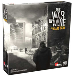 This War of Mine Board Game Pic